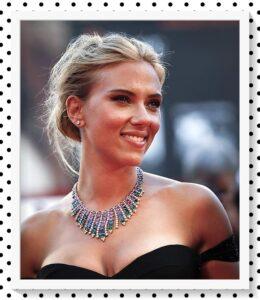 Scarlet Johansson sonrisa