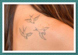 Tatuaje de aves Dakota