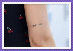 Tatuaje en el brazo Dakota