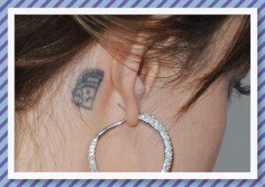 tatuajes en la oreja dakota