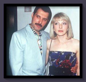 Freddie Mercury y Mary Austin